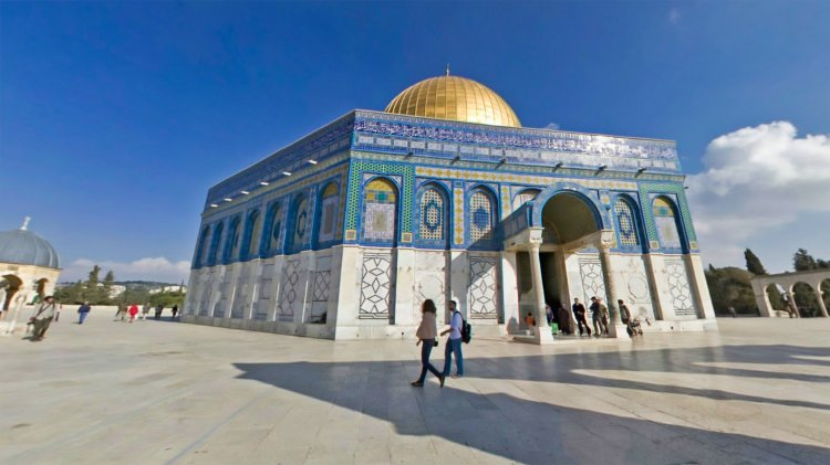 Jerusalem - The Masjid Aksa