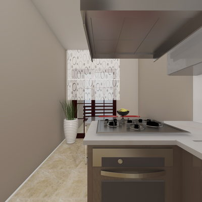3D Mutfak Çizimi 2