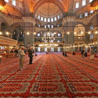 İstanbul Eminönü - Yeni Camii - Sağ Orta