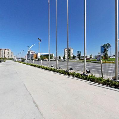Ankara Kongre Merkezi - Bahçe 2