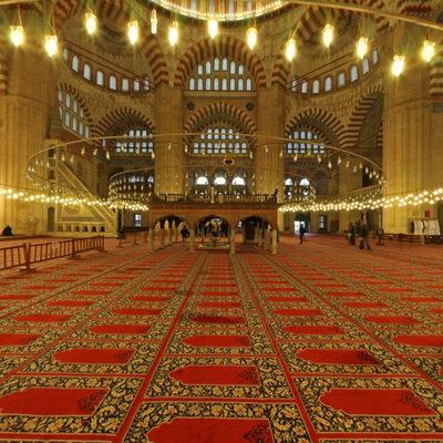 Selimiye Cami - Cemaat Yeri
