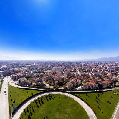 Kervan Kavşağı 360 Havadan Görünümü