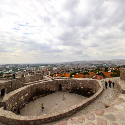 Ankara Kalesi - İç - Üst 3