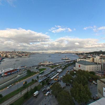 İstanbul Eminönü - Yeni Camii - Galata Yönü