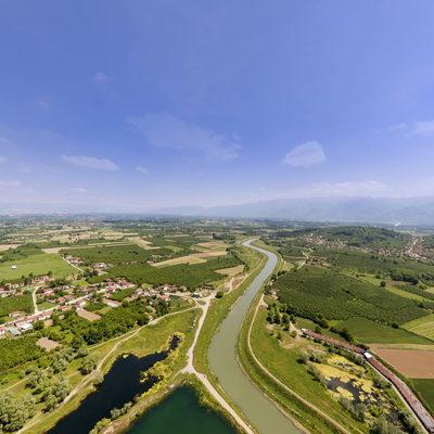 Yayakbaşı (Sarıdere) Göleti Havadan Görünüm