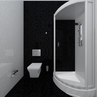 3D Banyo Çizimi 1