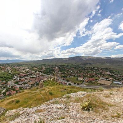 Sivas Divriği Kalesi - Şehir Görünümü