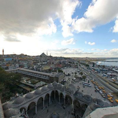 İstanbul Eminönü - Yeni Camii - Minare