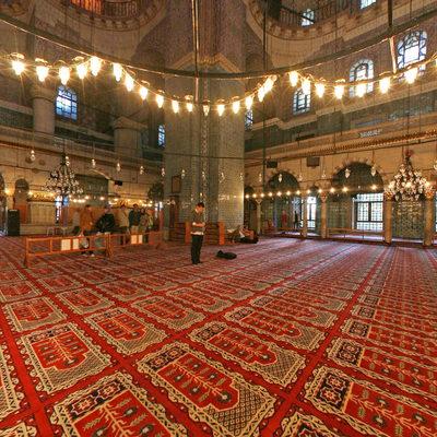 İstanbul Eminönü - Yeni Camii - Kubbe Altı