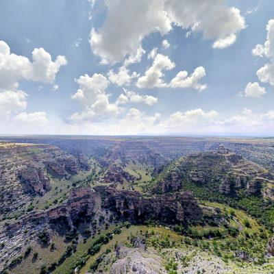 Ulubey Kanyonları - Cam Teras - Havadan