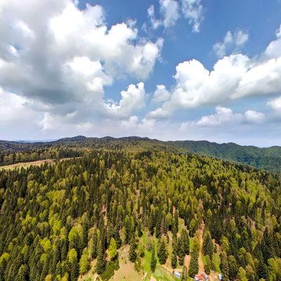Sırıklı Yaylası 360 Derece Hava Panoraması