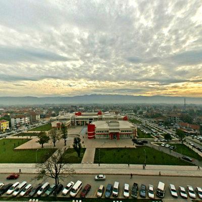 Düzce Anıt Park - Hava Panorama