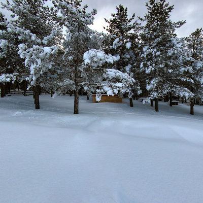 Topuk Yaylası - Kış 1