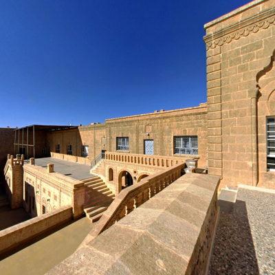 Mor Gabriel Manastırı - Balkon 2