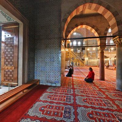 İstanbul Eminönü - Yeni Camii - Sol Ön Köşe