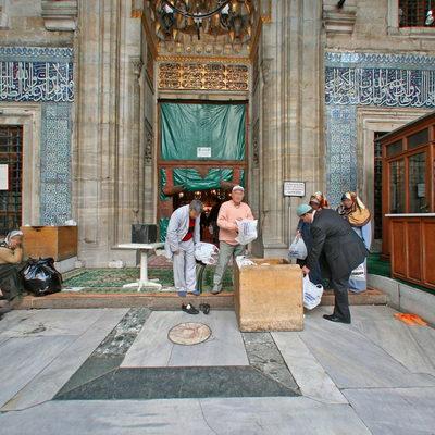 İstanbul Eminönü - Yeni Camii - İç Avlu Giriş