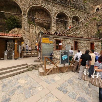 Sümela Manastırı - Giriş