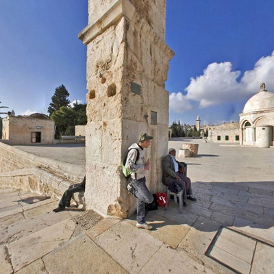 The Dome of the Rock - Square 4