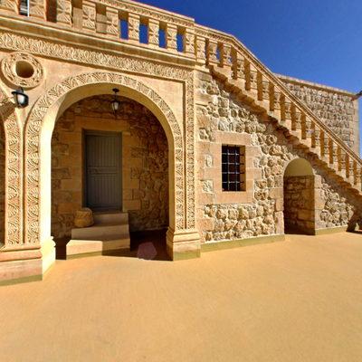 Mor Gabriel Manastırı - Balkon 1