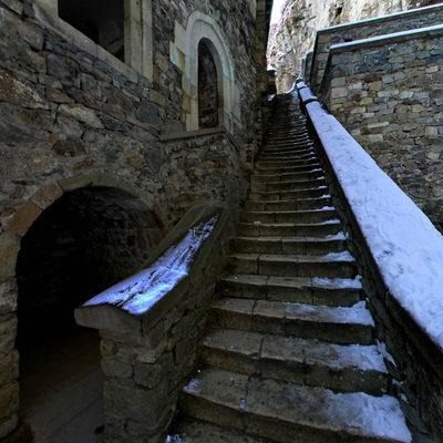 Sümela Manastırı - Kış 5