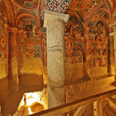 Kapadokya - Karanlık Kilise - 5