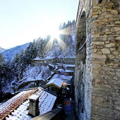 Sümela Manastırı - Kış 3
