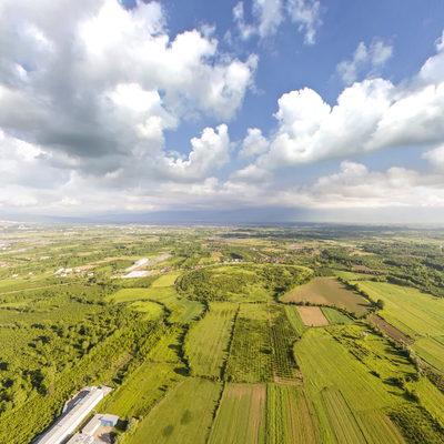 Aynalı Köyü Havadan Görünümü