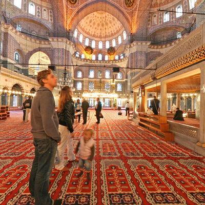 İstanbul Eminönü - Yeni Camii - İç Giriş