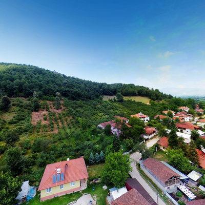 Sarıdere Köyü - Havadan - 3