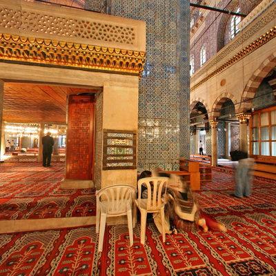 İstanbul Eminönü - Yeni Camii - Sağ Arka