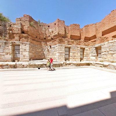 Efes - Roma Selsus Kütüphanesi - İç