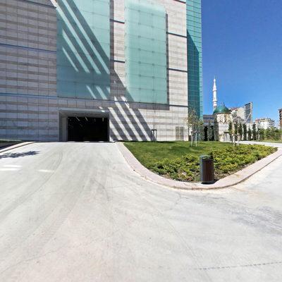 Ankara Kongre Merkezi - Bahçe 1