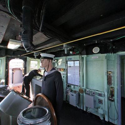 TCG Gayret Savaş Gemisi - Kaptan
