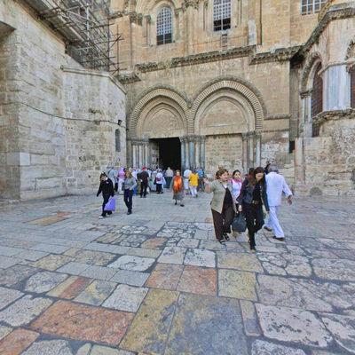 Kutsal Kabir Kilisesi - Avlu