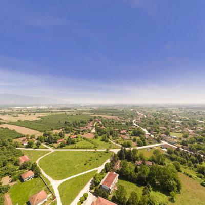 Köprübaşı Köyü - Fidanlık - Hava Fotoğrafı