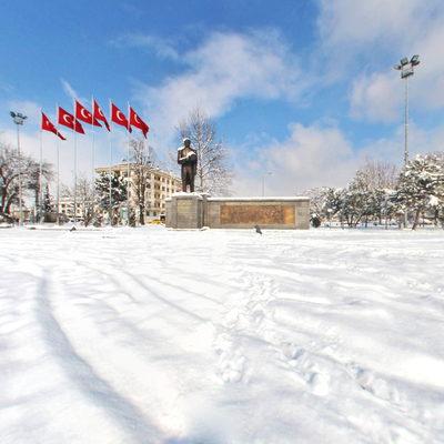 Düzce Kış Şehiriçi - Anıtpark 1
