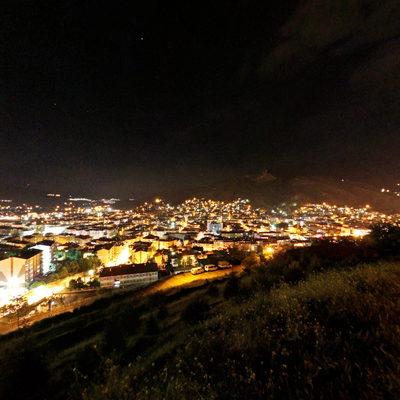 Tokat Kalesi - Şehir Gece