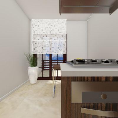 3D Mutfak Çizimi 1