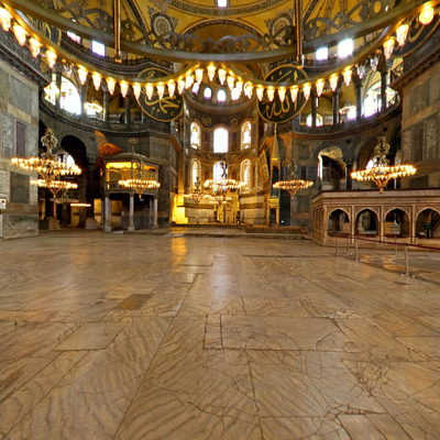 Hagia Sophia - Under the Dome