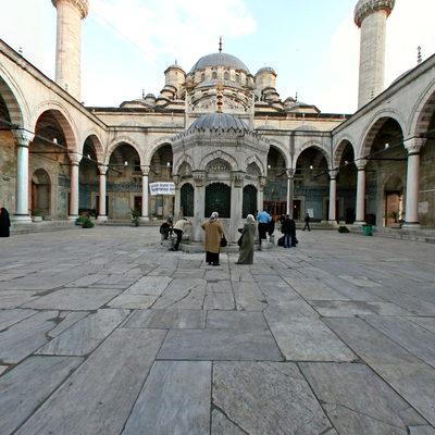 İstanbul Eminönü - Yeni Camii - İç Avlu