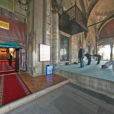 Mihrimah Sultan Mosque - Entry