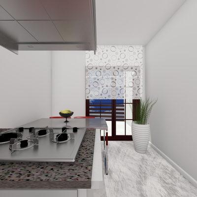 3D Mutfak Çizimi 3