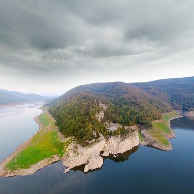 Hasanlar Baraj Gölü - Havadan Panorama