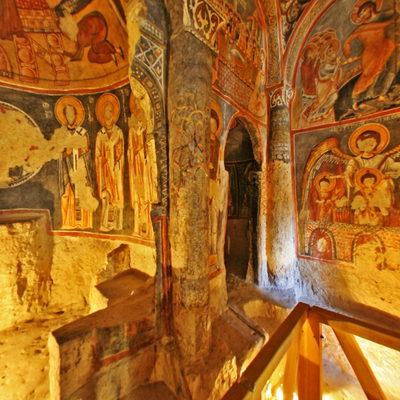 Kapadokya - Karanlık Kilise - 3