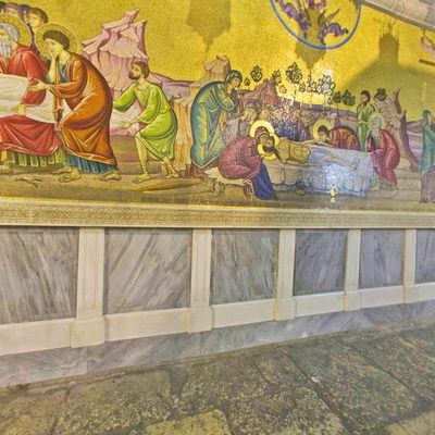 Kutsal Kabir Kilisesi - Mozaik