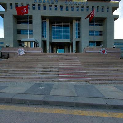 Batı Adalet Sarayı - Protokol Girişi