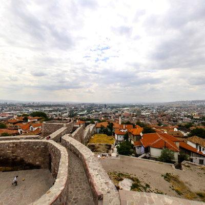 Ankara Kalesi - İç - Üst 4