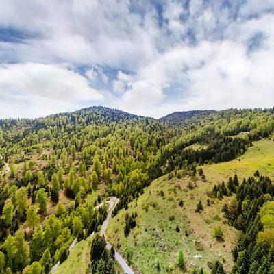 Odayeri Yaylası Havadan 360 Görünümü