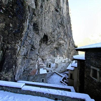 Sümela Manastırı - Kış 4