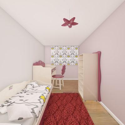 3D Yatak Odası Çizimi 6